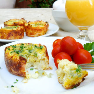 Hash Brown Egg Muffins For On-The-Go