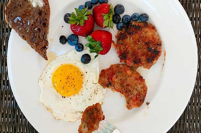 Homemade breakfast sausage is a real treat and so easy to make