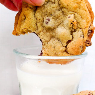 Classic Chocolate Chip Cookies like mom used to make very similar to Toll House chocolate chip cookies