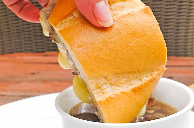 easy french dip sandwiches recipe with au jus