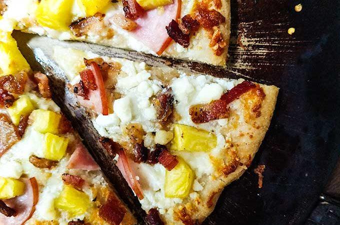 Hawaiian Pizza Recipe Slice