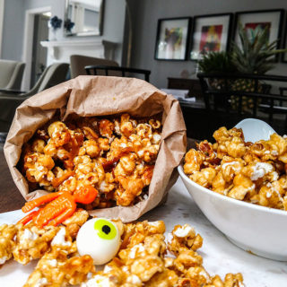 Homemade Cracker Jack Recipe with fun Cracker Jackprizes