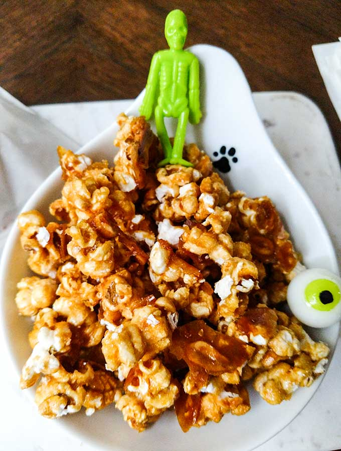 Homemade Cracker Jack recipe with toy prize