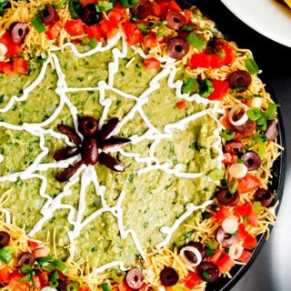 Halloween Spider Web Dip Is Perfect Party Fare