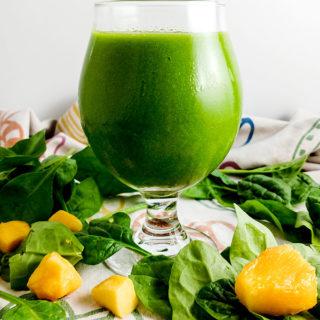 mango green smoothie recipe