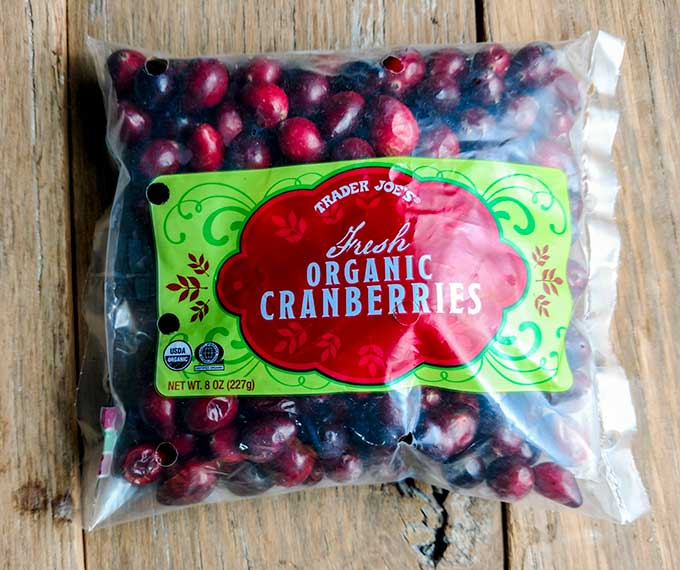 Bagged Cranberries