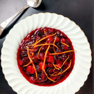 Quick Orange Cranberry Sauce Recipe