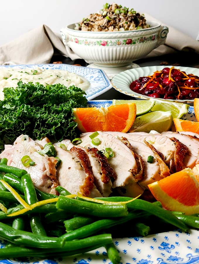 90 minute citrus turkey breast dinner