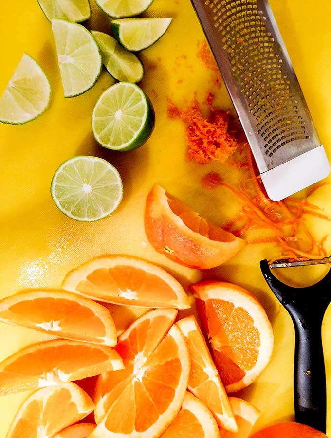 Citrus turkey breast ingredients
