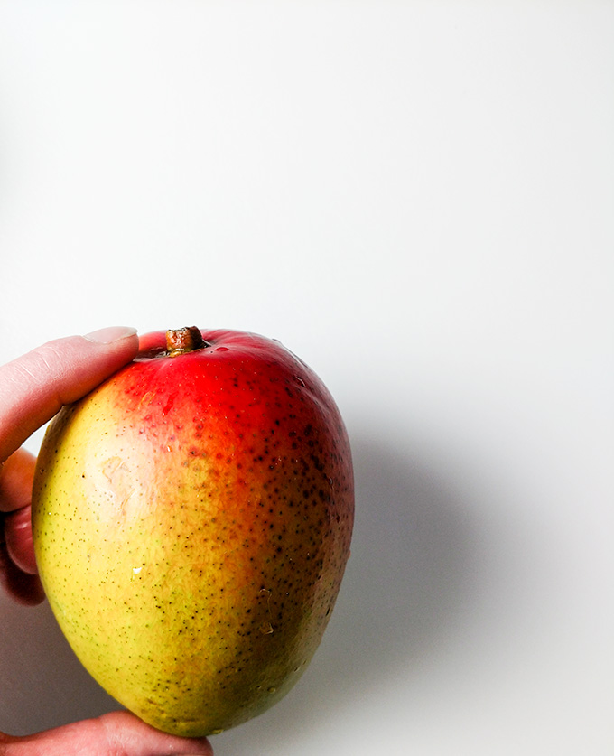 How to cut a mango the easy way