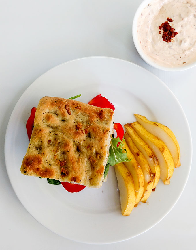 Bread Machine Herb Focaccia Recipe - On The Go Bites