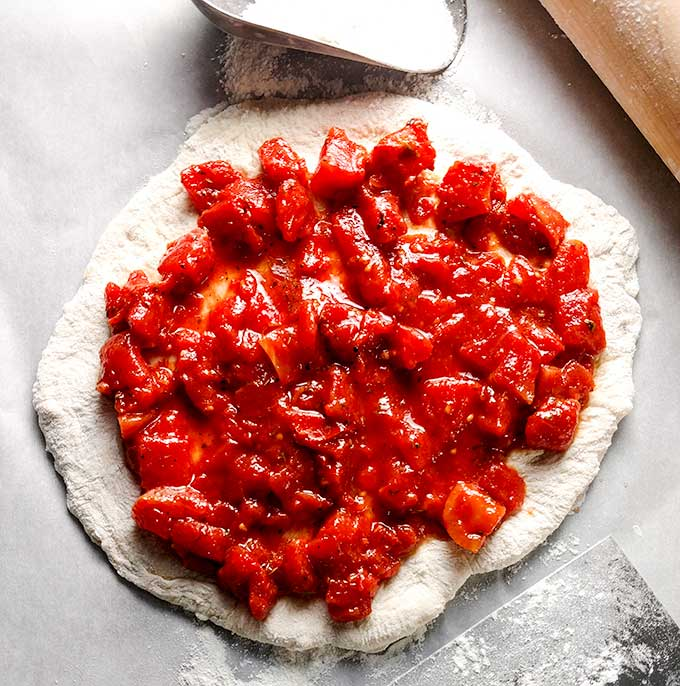 how to keep pizza crust from getting soggy