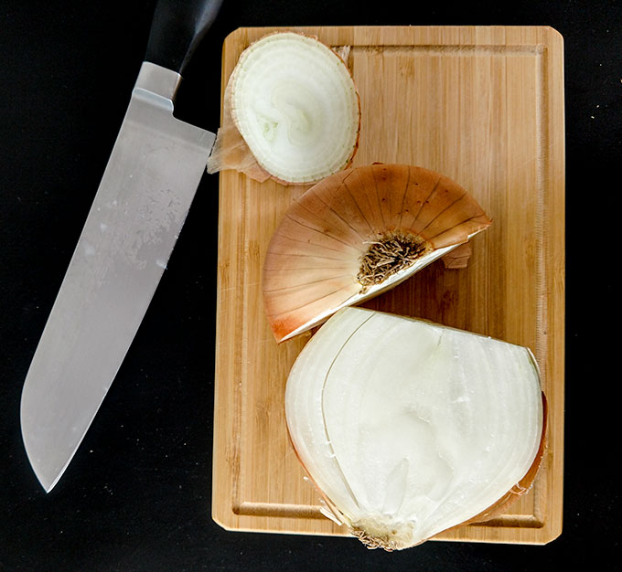 how to make cutting onions less painful