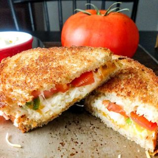 Grown-Up Grilled Cheese With Bacon and Tomato