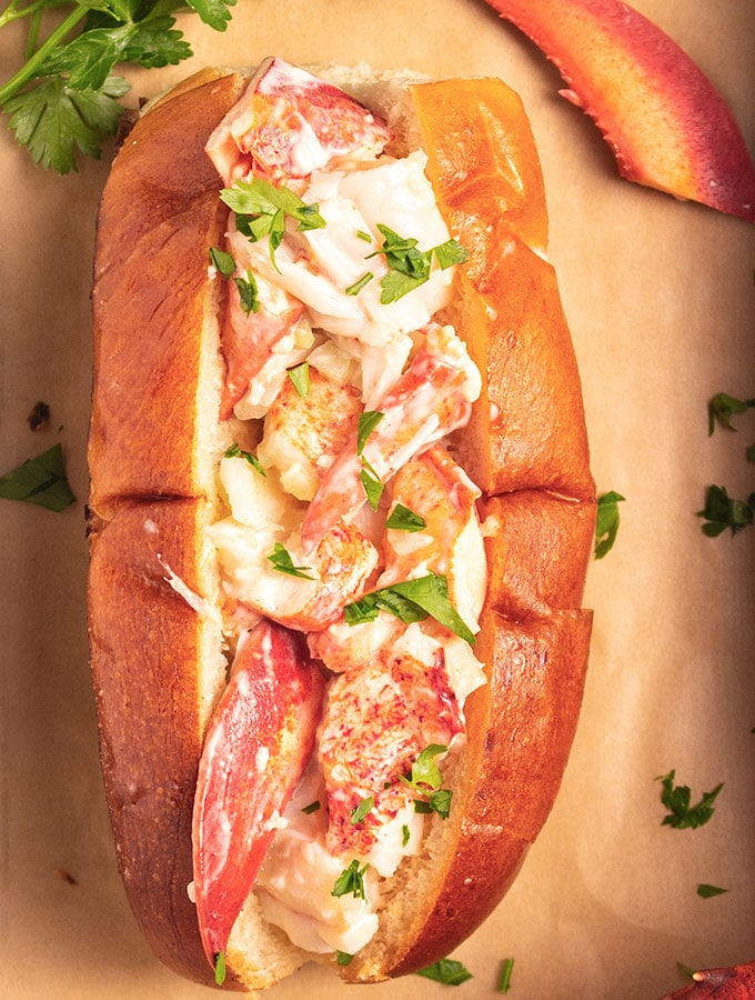 New England Lobster Roll Recipe On The Go Bites