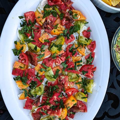 Diced Caprese Salad Recipe